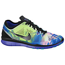 Buy Nike Free TR Fit 5 Print Women's Training Shoe Online at johnlewis.com