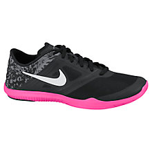 Buy Nike Studio 2 Women's Cross Trainers, Black/Hyper Pink Online at johnlewis.com
