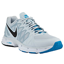Buy Nike Dual Fusion TR 6 Men's Running Shoes, Platinum/Blue Online at johnlewis.com