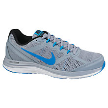 Buy Nike Dual Fusion Run 4 Men's Running Shoes, Grey Online at johnlewis.com