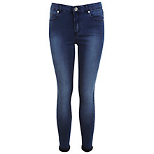 Buy Miss Selfridge Short Ultra Soft Jeans, Mid Wash Denim Online at johnlewis.com