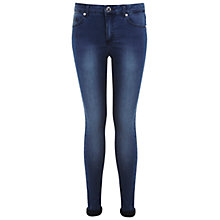 Buy Miss Selfridge Regular Ultra Soft Jeans, Mid Wash Denim Online at johnlewis.com