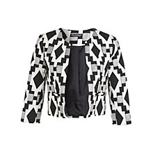 Buy Miss Selfridge Aztec Jacket, Multi Online at johnlewis.com