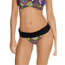 Buy Freya Byzantine Fold Bikini Briefs, Multi Online at johnlewis.com