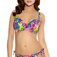 Buy Freya Floral Pop Bikini Top, Multi Online at johnlewis.com