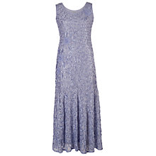 Buy Chesca Lace Cornelli Dress, Lilac Online at johnlewis.com