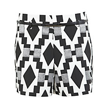 Buy Miss Selfridge Aztec Shorts, Multi Online at johnlewis.com