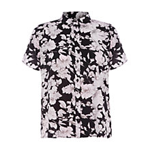 Buy Warehouse Oversized Printed Boxy Shirt, Multi Online at johnlewis.com