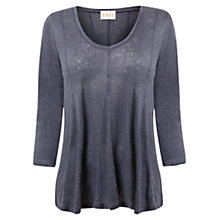 Buy East Godet Jersey Top, Bluestone Online at johnlewis.com