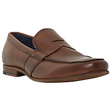 Buy Dune Remma Leather Penny Loafers Online at johnlewis.com