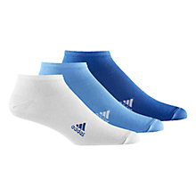 Buy Adidas Trainer Socks, Pack of 3 Online at johnlewis.com
