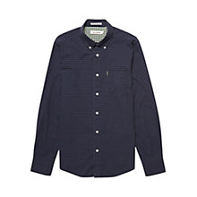 Buy Ben Sherman Gingham Long Sleeve Shirt, Phantom Online at johnlewis.com