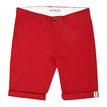 Buy Ben Sherman Chino Shorts, Raspberry Online at johnlewis.com
