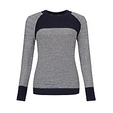 Buy Collection WEEKEND by John Lewis Reverse Knit Stripe Jumper Online at johnlewis.com