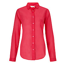 Buy Collection WEEKEND by John Lewis Voile Shirt, Pink Online at johnlewis.com