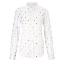Buy Collection WEEKEND by John Lewis Seagull Print Shirt Online at johnlewis.com