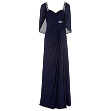 Buy Jacques Vert Maxi Dress, Navy Online at johnlewis.com