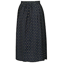 Buy Fat Face Mini Bud Skirt, Phantom Online at johnlewis.com
