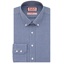 Buy Thomas Pink Goldsmith Button Down Shirt, Navy Online at johnlewis.com