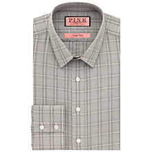 Buy Thomas Pink Jones Check Super Slim Fit Shirt, Grey/White Online at johnlewis.com