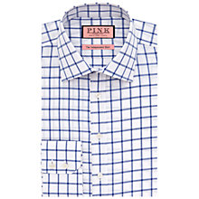 Buy Thomas Pink Hornsey Check Shirt, White/Blue Online at johnlewis.com