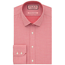 Buy Thomas Pink Bartlett Shirt Geo Pattern Shirt, Red/White Online at johnlewis.com