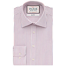Buy Thomas Pink Becker Stripe Shirt, White/Red Online at johnlewis.com