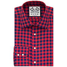 Buy Thomas Pink Plato Check Slim Fit Shirt Online at johnlewis.com