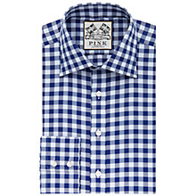 Buy Thomas Pink Plato Check Super Slim Fit Shirt, Blue/Navy Online at johnlewis.com