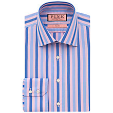 Buy Thomas Pink Walbourn Stripe Shirt, Pink/Blue Online at johnlewis.com