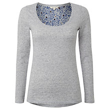 Buy White Stuff Bonita T-Shirt, Grey Marl Online at johnlewis.com