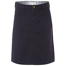 Buy White Stuff Chino Skirt, Navy Online at johnlewis.com
