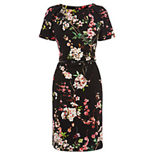 Buy Coast Aurelia Print Dress, Black Online at johnlewis.com