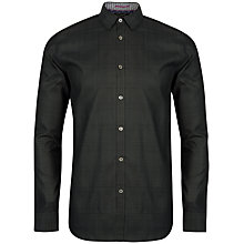 Buy Ted Baker Enmare Large Scale Check Shirt Online at johnlewis.com