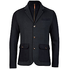 Buy Ted Baker Twain 2-in-1 Jersey Jacket, Teal Online at johnlewis.com