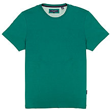 Buy Ted Baker Balpond Short Sleeve T-Shirt, Green Online at johnlewis.com