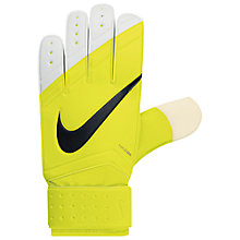 Buy Nike Classic Goalkeeper Gloves, Volt Online at johnlewis.com