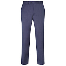 Buy John Lewis Pinhead Wool Suit Trousers, Blue Online at johnlewis.com