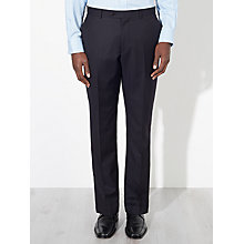 Buy John Lewis Pinstripe Tailored Trousers, Navy Online at johnlewis.com