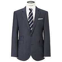 Buy John Lewis Super 100s Wool Prince of Wales Check Tailored Suit Jacket, Airforce Online at johnlewis.com