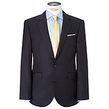 Buy John Lewis Pinstripe Tailored Suit Jacket, Navy Online at johnlewis.com