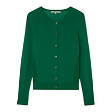 Buy Gerard Darel Soft V Cardigan, Green Online at johnlewis.com