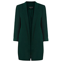 Buy Warehouse Longline Jacket, Dark Green Online at johnlewis.com