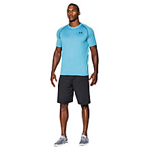 Buy Under Armour Tech Training T-Shirt, Island Blue Online at johnlewis.com