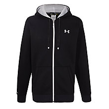 Buy Under Armour Storm Rival Full Zip Hoodie, Black Online at johnlewis.com