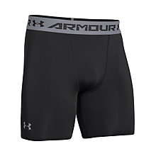 Buy Under Armour HeatGear® Sonic Compression Shorts, Black Online at johnlewis.com
