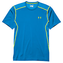 Buy Under Armour HIIT Short Sleeve T-Shirt, Blue Jet Online at johnlewis.com