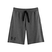 Buy Under Armour Legacy Charged Cotton Shorts, Carbon Online at johnlewis.com