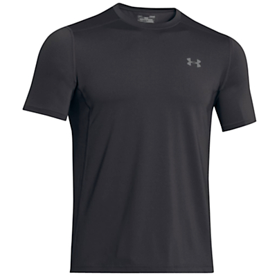 Image of Under Armour HIIT Short Sleeve T-Shirt, Black