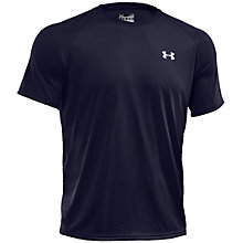 Buy Under Armour Tech Short Sleeve T-Shirt, Navy Online at johnlewis.com